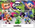 Amiibo Inkling Girl Squid Boy Splatoon Pack
