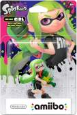 Amiibo Inkling Green Girl Splatoon Collection
