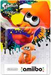 Amiibo Inkling Squid Orange Splatoon Collection