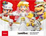 Amiibo Mario Bowser Peach Wedding Super Mario Odyssey