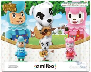 Amiibo Reese Slider Cyrus Animal Crossing Collection