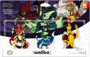 Amiibo Specter Plague King Knight Pack Shovel Knight