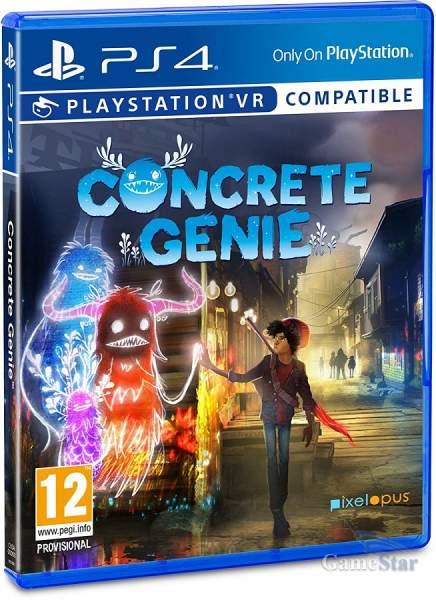Concrete Genie ps4 VR