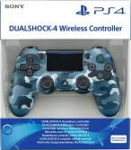 Джойстик Dual Shock 4 pro Blue Camouflage ps4