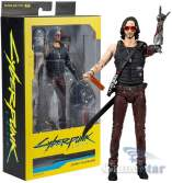 Фигурка Cyberpunk 2077 Johnny Silverhand Action Figure McFarlane