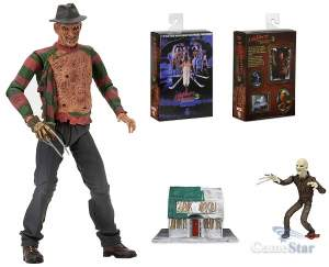 Фигурка Nightmare On Elm Street 3 Dream Warriors Freddy Neca