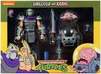 Фигурка Turtles Classic Cartoon Shredder and Krang Neca
