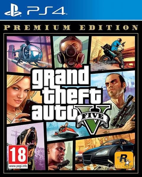 Grand Theft Auto 5 Premium Edition ps4