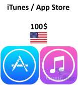 iTunes App Store Gift Card 100 USD
