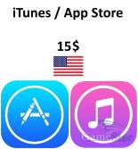 iTunes App Store Gift Card 15 USD
