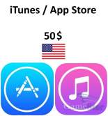 iTunes App Store Gift Card 50 USD