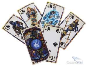 и играть карты таро магии меча герои как