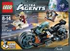 LEGO Agents Invizable Gold Getaway 70167