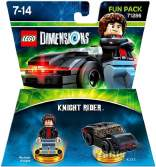 LEGO Dimensions Knight Rider Michael Knight Fun Pack