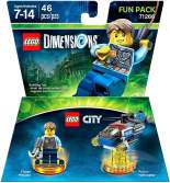 LEGO Dimensions LEGO City Chase McCain Fun Pack