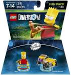 LEGO Dimensions Simpsons Bart Fun Pack