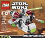 LEGO Star Wars Micro Republic Gunship 75076