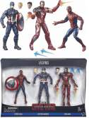 Набор фигурок Marvel Legends Captain America Civil War Hasbro