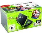 New Nintendo 2DS XL Black Lime Green Mario Kart 7 Edition