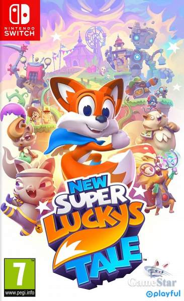 New Super Luckys Tale Switch