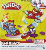 Play-Doh Marvel Cans Vehicle B0606 Hasbro