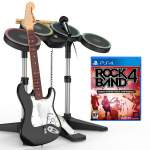 Rock Band 4 Guitar Band in a Box Software Bundle ps4