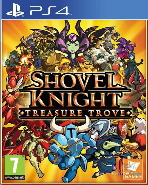 Shovel Knight Treasure Trove ps4