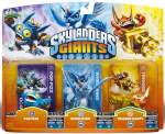 Skylanders Giants Pop Fizz Whirlwind Trigger Happy Series 1 2 2