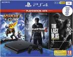 Sony PlayStation 4 Slim 1TB Bundle Uncharted 4 Одни из нас Ratchet and Clank ps4