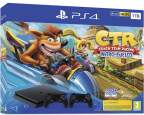 Sony PlayStation 4 Slim 1TB with DualShock 4 and Crash Team Racing Nitro Fueled ps4