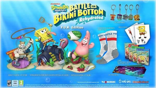 Spongebob Squarepants Battle for Bikini Bottom Rehydrated Fun Edition
