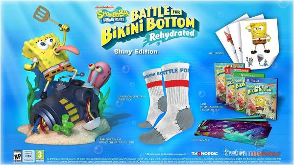 Spongebob Squarepants Battle for Bikini Bottom Rehydrated Shiny Edition
