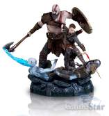 Статуэтка God of War Kratos Atreus Collectors Edition