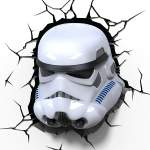 Светильник Star Wars Storm Trooper 3D Deco Light