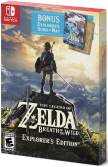 The Legend of Zelda Breath of the Wild Explorers Edition Switch