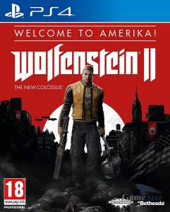 Wolfenstein 2 The New Colossus Welcome to Amerika ps4