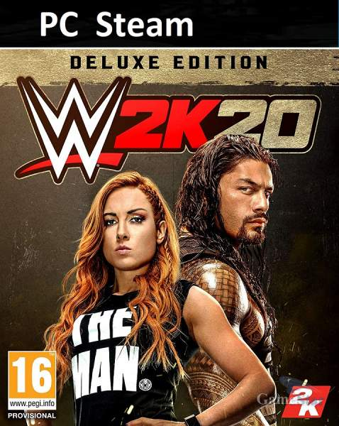 WWE 2K20 Deluxe Edition ключ