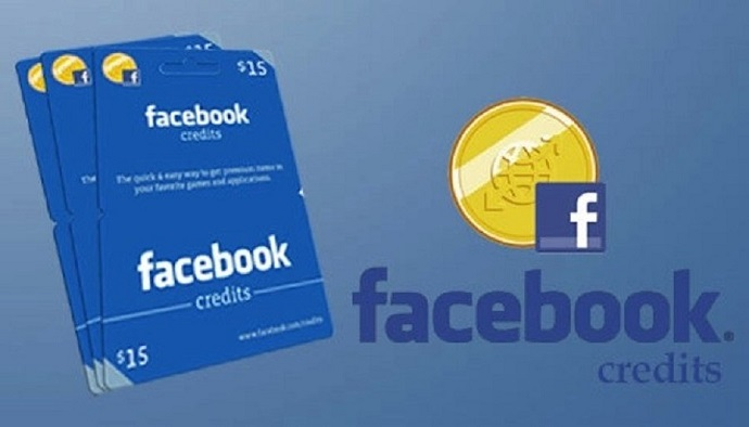 Facebook Credits Game Card
